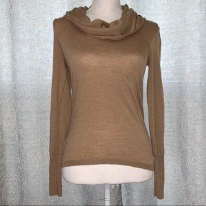 Ann Taylor Cowl Neck Wool Sweater